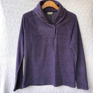Royal Robbins fleece pullover half zip sweater L